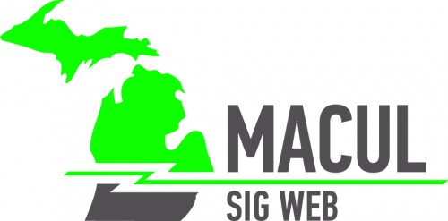 MACUL's Special Interest Group for the Web